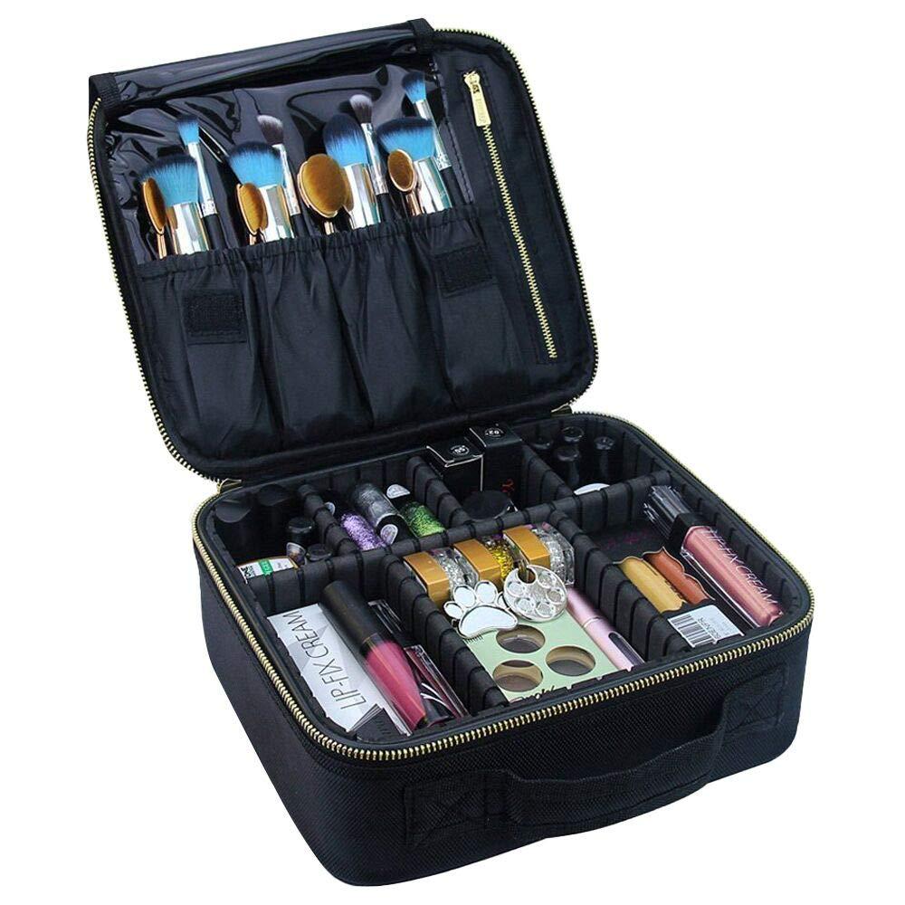 Travel Makeup Case,Chomeiu- Professional Cosmetic Makeup Bag Organizer