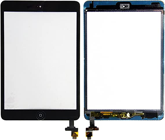 for iPad Mini 3 Retina Touch Screen Digitizer with Home Button /& IC Flex Button