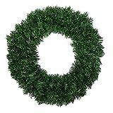 Christmas Decor - Traditional Green Christmas House Artificial Pine Garlands Wreath 40CM