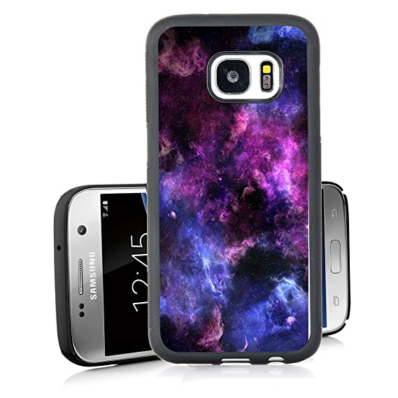 detailed look da40d 0a8c0 Galaxy S7 Case Personalized Design Samsung Galaxy S7 TPU Black Cell Phone  Case Abstract Purple Sky