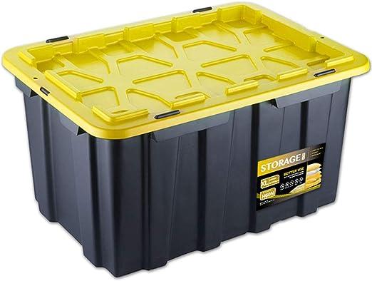 Caja De Almacenamiento del Coche 62L Caja De Almacenamiento del ...