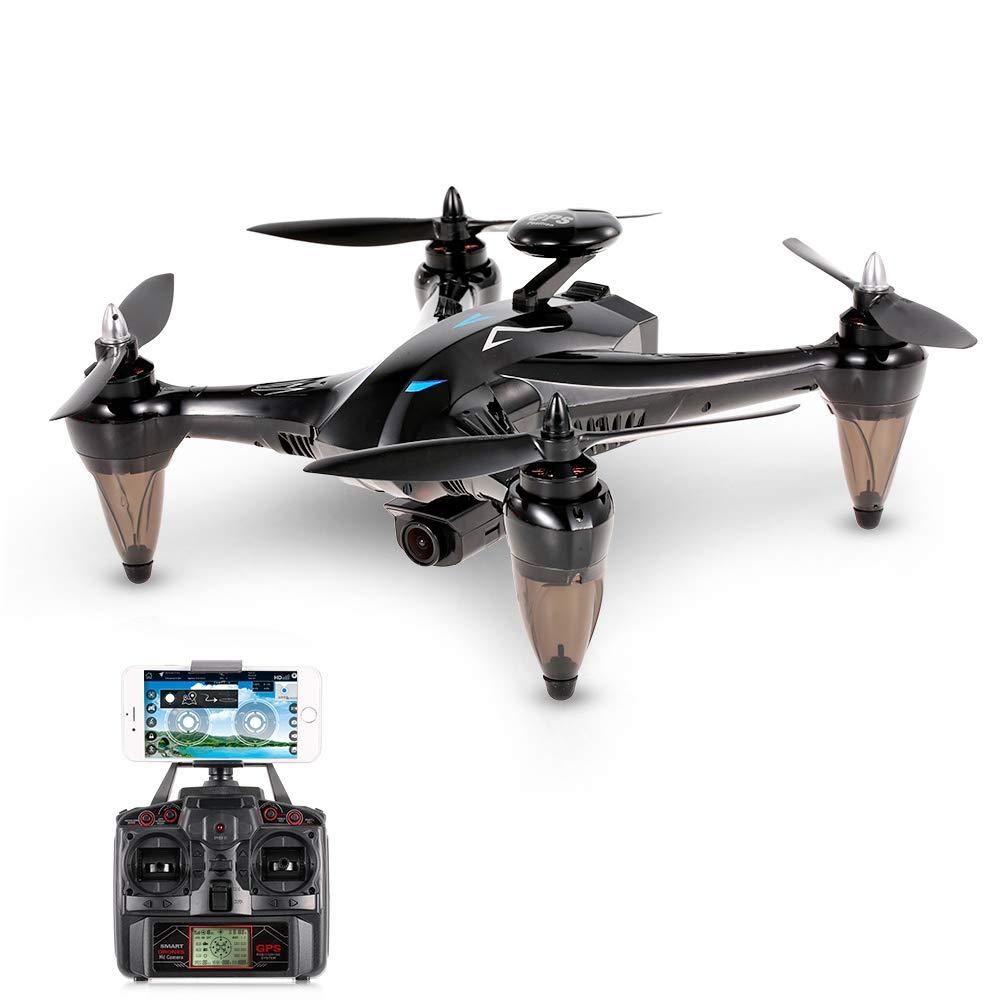 Goolsky Xinlin X198 RC Quadrocopter Drohne mit 5G Wifi 1080P Weitwinkel Kamera Unterstützung Wifi FPV Höhe Halten GPS