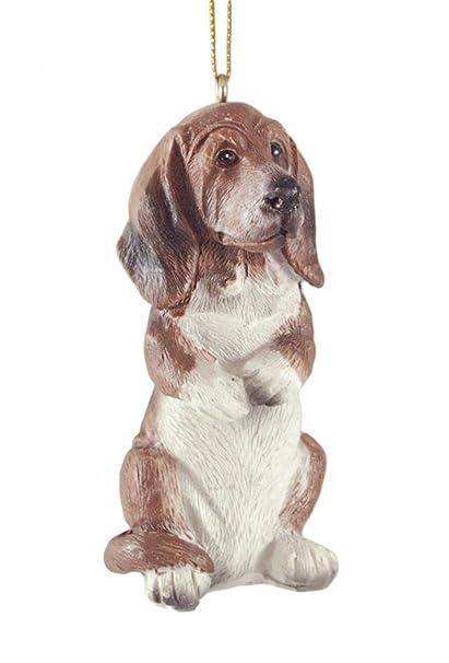 Basset Hound Dog Hanging Christmas Ornament - Amazon.com: Basset Hound Dog Hanging Christmas Ornament: Home & Kitchen