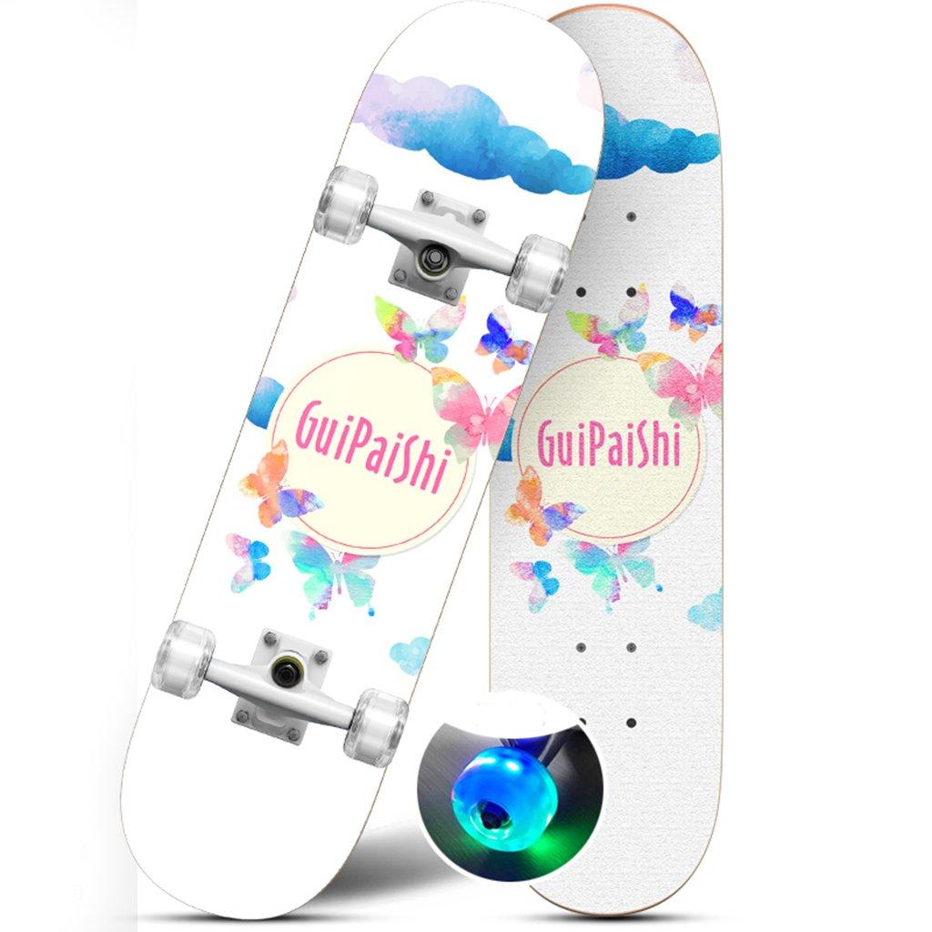 国内初の直営店 ドリフトボードフリーラインスケートフラッシュ大人の子供プロスケートボーダー旅行サイレント四輪ダイナミックボード漫画パターン(1P) B07FRPP11P E E E, 八光舎:a24c77a2 --- a0267596.xsph.ru