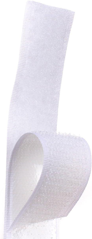 Velcro ® marque crochet et boucle crochet seulement boucle seulement 3//4 pouces différentes longueurs