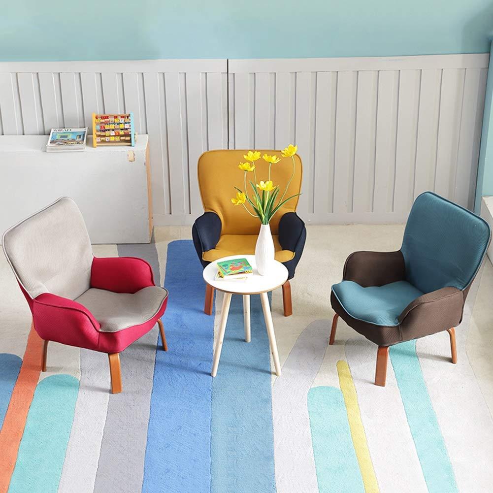Bodenstuhl, Faltendes Baby-Sofa-Lesestuhl-reizendes Couch-Kindergarten-faules Sofa  für Jungen-Mädchen scherzt Kinder (Farbe   Sofa Blau) 025d7e