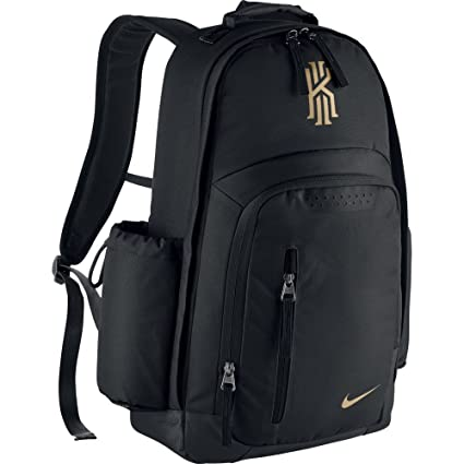 36ff4aa361 ... low price nike kyrie backpack black metallic gold 7006e f999a