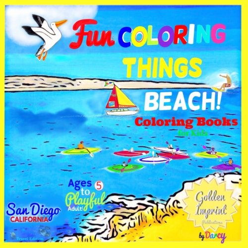 (COLORING BOOKS for Kids: San Diego CALIFORNIA (Travel Edition))