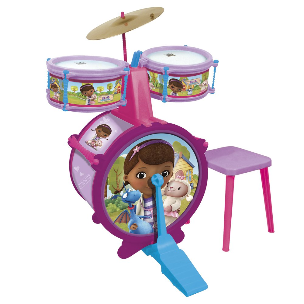 Reig/DocMcStuffins-5214-Microphone + Speaker with Music and Lights-Doc Mc Stuffins-Musical Instrument Accessory
