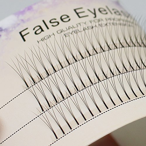 Scala 105PCS Individual Lashes Black False Eyelash Natural Long Cluster Extension Makeup Beauty Health Makeup Fake Eyelashes 8-15MM (9mm)