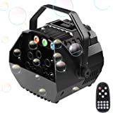 Easife Professional Bubble Machine for Parties Bubbles Blower Maker for Kids - Plug in/Battery Operated