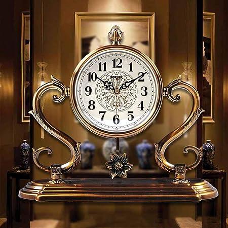 XUEXIONGSP El Reloj de Tabla, la Tabla Decorativa de Madera del ...