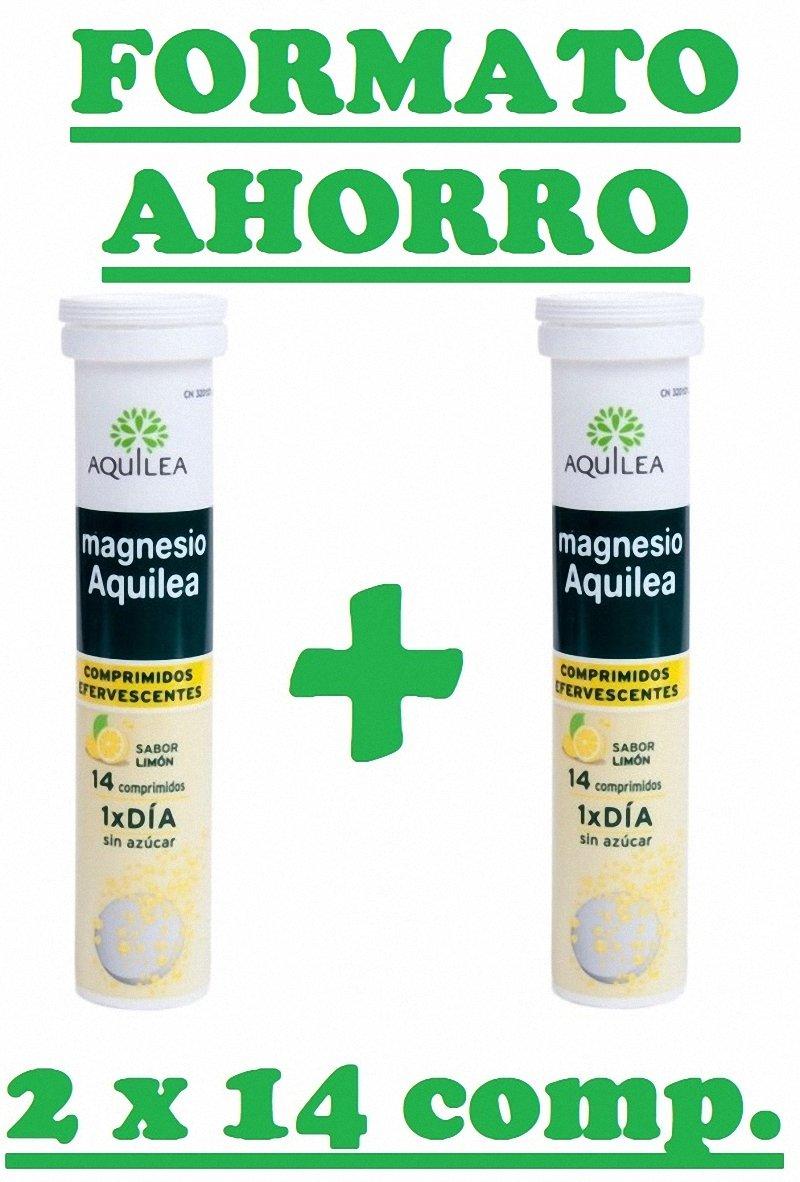URIACH AQUILEA Magnesio Efervescente 2X14 comprimidos: Amazon.es: Salud y cuidado personal