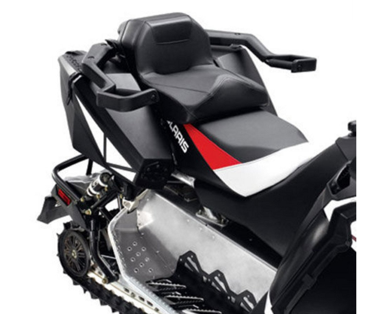 Genuine Pure Polaris Snowmobile Lock & Ride Convertible Passenger Seat for Switchback and 600/800 Adventure pt# 2879839