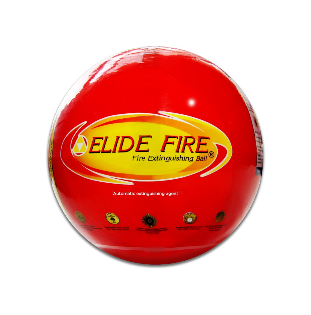 Elide Fire Ball, Self Activation Fire Extinguisher, 2018 New Version, Boat Extinguisher, Car Extinguisher, Fire Safety Product, Elide, 5 Year Warranty