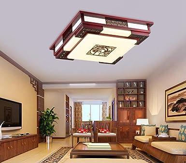 Jingzou Modern Chinese Wohnzimmer Decke Holz Acryl Ess Schlafzimmer