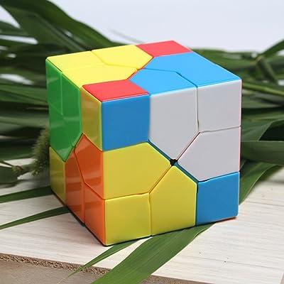 Easygame Moyu Redi Cube 333 Nero Magic Cube Puzzle giocattolo por bambini (Color): Juguetes y juegos