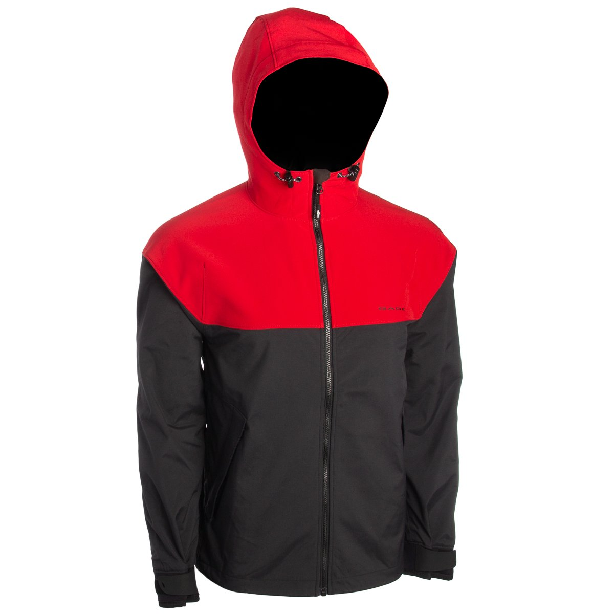 Grundens Gage Fish On Hooded Jacket - Red - Small