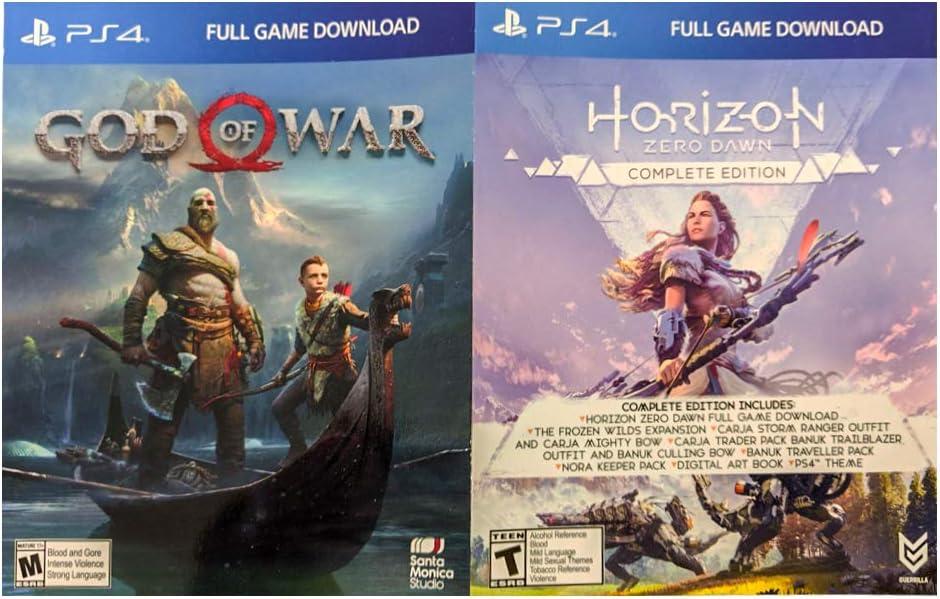 HESVAP - Cargador doble para PS4 y 2 juegos gratis (Dios de la ...