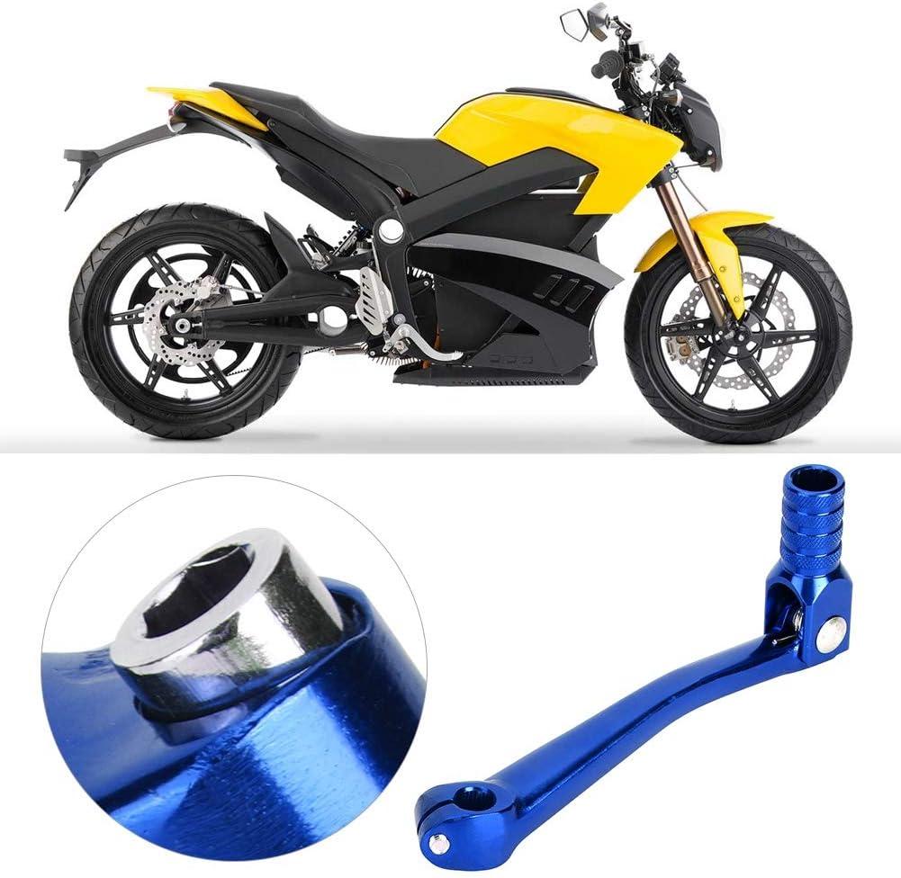 Palanca de Cambio de Marchas de Motocicleta Universal CNC Aleaci/ón de Aluminio Plegable Palanca de Cambio de Marchas Accesorio de Modificaci/ón de Moto 5.9x2.5 Pulgadas Blue