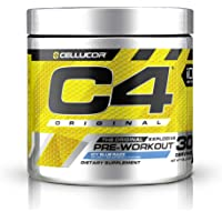 Cellucor C4 Pre-workout Supplements with Creatine, Nitric Oxide, Beta Alanine and Energy, G4v1, Icy Blue Razz, 30 Servings