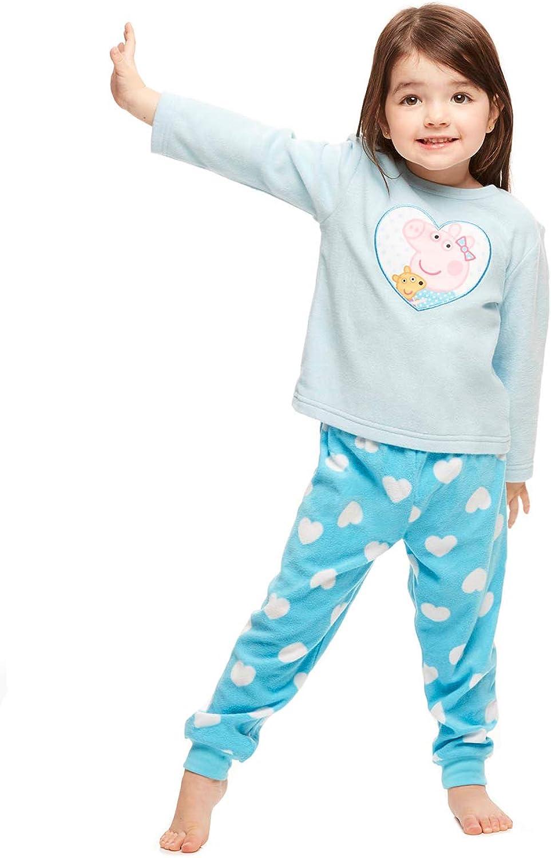 Girls Toddler 2-Piece Pajama Set Top /& Jogger Pants