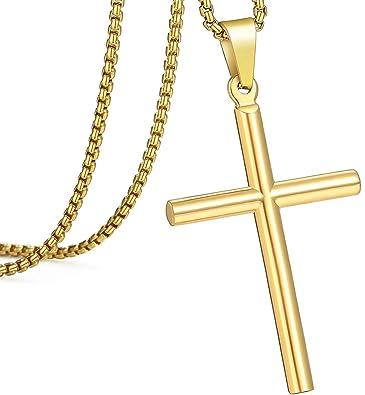 Amazon.com: Bforward Jewelry - Collar con colgante de cruz ...