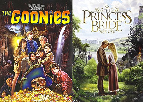 The Goonies + Princess Bride Fairy Tale DVD Collection Family Fun 2 Movie Bundle Set