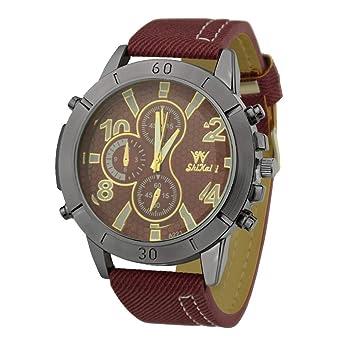 Aobuang Elegante Relojes para Hombre Buen Tacto NúCleo De Cuarzo ...