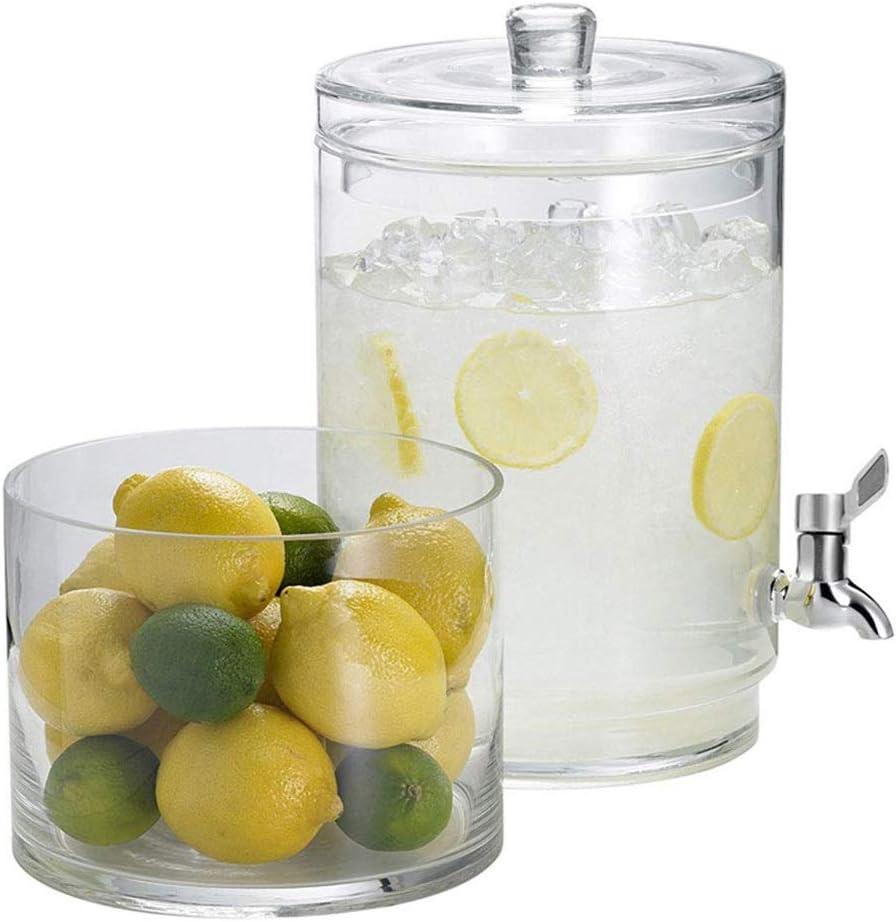 締約国のために冷たい飲み物パンチアイス水のためのタップ1.5ガロンドリンクの瓶とメイソンジャードリンクディスペンサーガラスドリンクディスペンサー