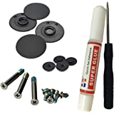 "MacBook Pro Rubber Feet Replacement for Bottom Case Foot Set for 13"" 15"" 17"" Full Kit Set With Tools - Infinite Products"