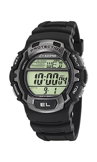 Calypso Reloj Digital para Hombre de Cuarzo con Correa en Plástico 780-241: Amazon.es: Relojes