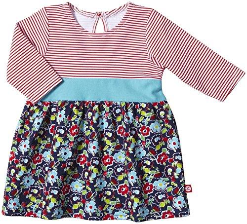 (Zutano Unisex Baby Wide Awake Dress (Baby) - Navy - 3 Months)