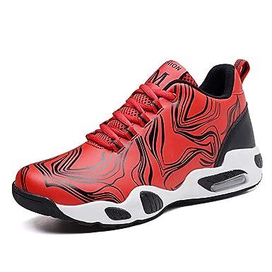 YUL Zapatos de baloncesto para hombre PU Primavera Otoño Comfort ...