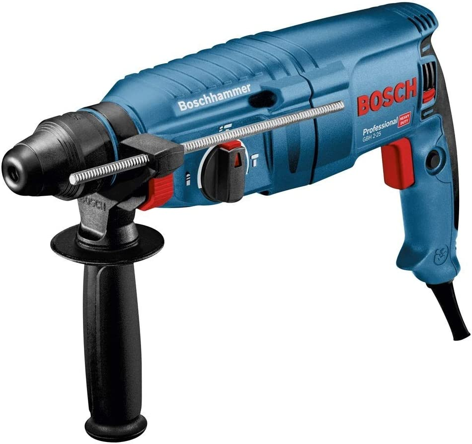 Bosch GBH2-25D 240v SDS Plus Rotary Hammer Drill 790w GBH225D Includes Case