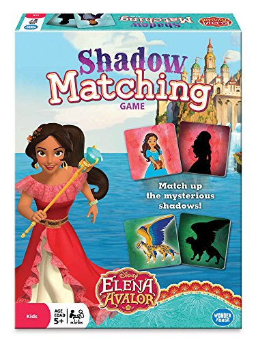 Disney Elena Of Avalor Matching Board Game