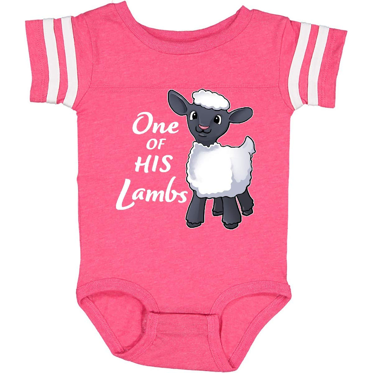 inktastic 1 of His Lambs- Easter Sheep Infant Creeper