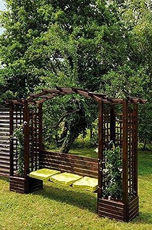 Pergola banco en arco madera Florencia: Amazon.es: Bricolaje y herramientas