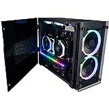 CUK Stratos Mini Gaming PC (Liquid Cooled Intel Core i9 K-Series, 64GB RAM, 1TB NVMe + 2TB HDD, NVIDIA GeForce RTX 3070…