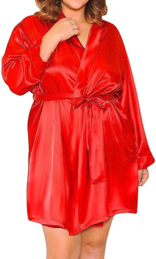 IZHH Women Lingerie Silk...