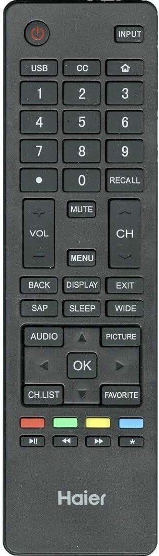Haier HTR-A18M Remote Control
