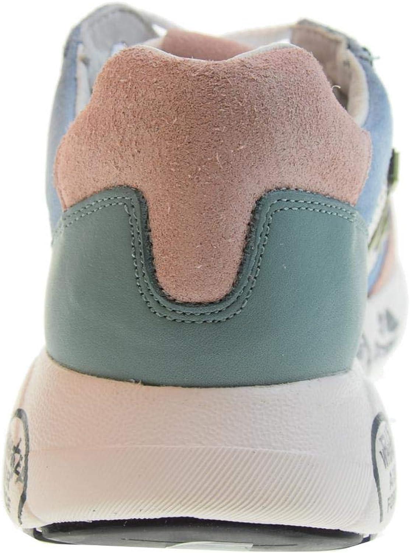 PREMIATA Scarpe Donna Sneakers Basse Zac-Zac-D_3733 Bianco Multi