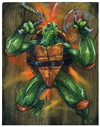 Amazon.com: Ninja Turtles Art Print - TMNT Poster Art - Wall ...
