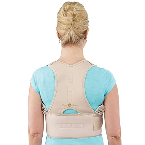 8220d980d0f Buy Shoppozone Royal Posture Back Support Brace Corrects Slouching And  Eases Pain - XL Online at Low Prices in India - Amazon.in