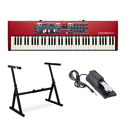 Amazon com: Nord Electro 6D 73-Key Semi-Weighted Action