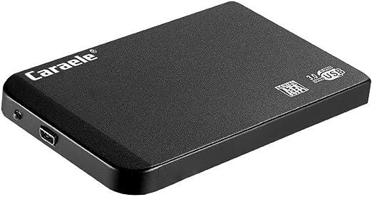 gazechimp USB3.0 2.5インチ SATA外付けハードドライブモバイルディスク HDエンクロージャブラック - 320GB