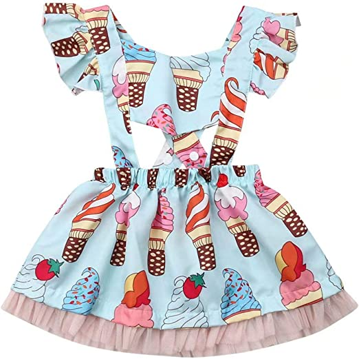 Girls Summer Dress Princess Patchwork Bow Kids Clothes With Multicolor Costume