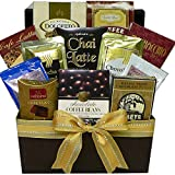 Best Art of Appreciation Gift Baskets Birthday Gift For Women - Coffee, Cappuccino & Latte Lovers Gourmet Snacks Gift Review