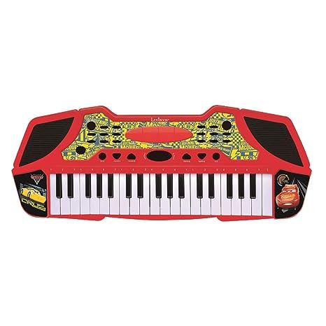 Cars Teclado con Micrófono, Instrumento Piano Infantil Lexibook K710DC: Amazon.es: Juguetes y juegos
