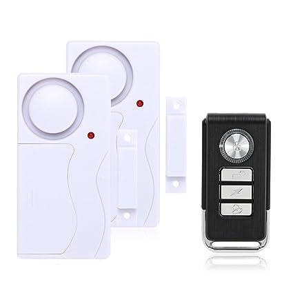 Mengshen Inalámbrico casa puerta ventana ladrón alarma DIY Seguridad Seguridad Sistema de alarma Sensor magnético con